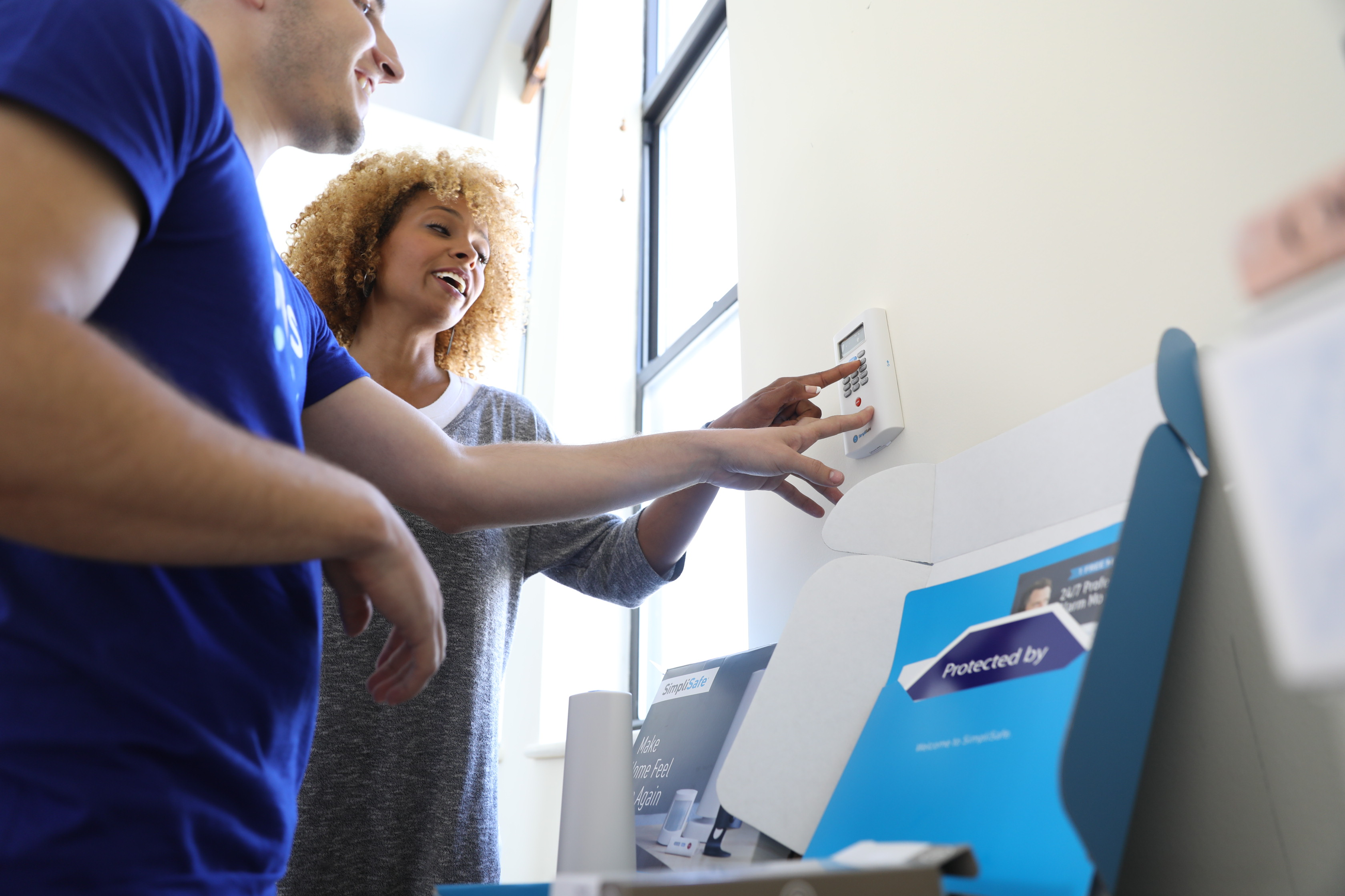 smart home automation: SimpliSafe