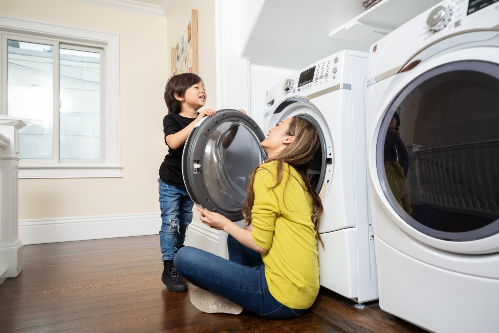 washer/dryer installation service