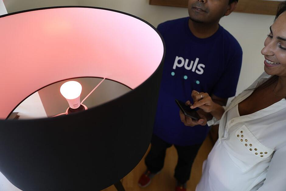 Puls lighting smart home