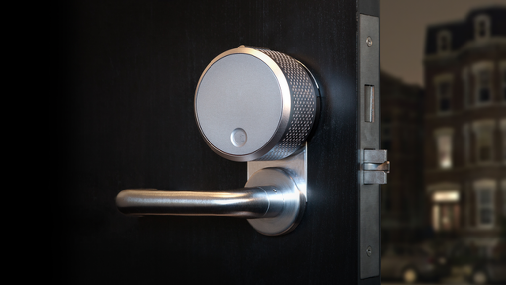 April showers: August smart lock