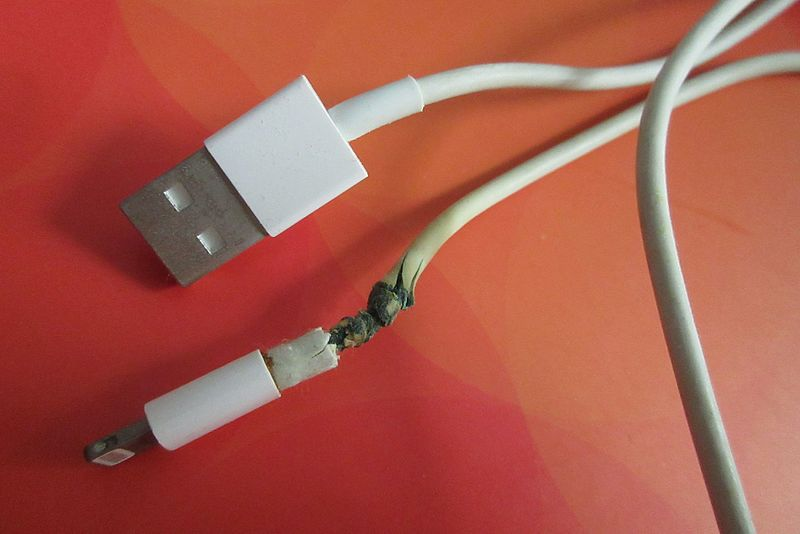 bad iPhone charger