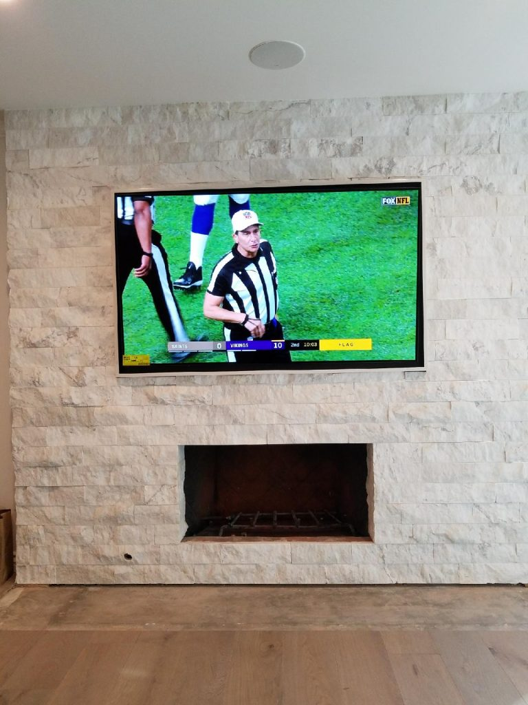 Mounting Tv Over Fireplace