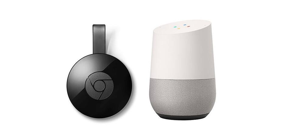 Google home and chrome cast device