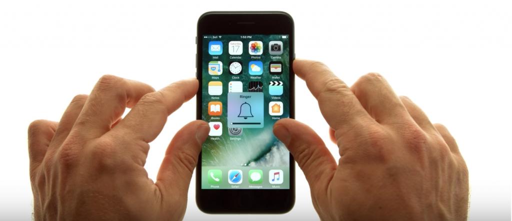 iPhone 7 forced restart
