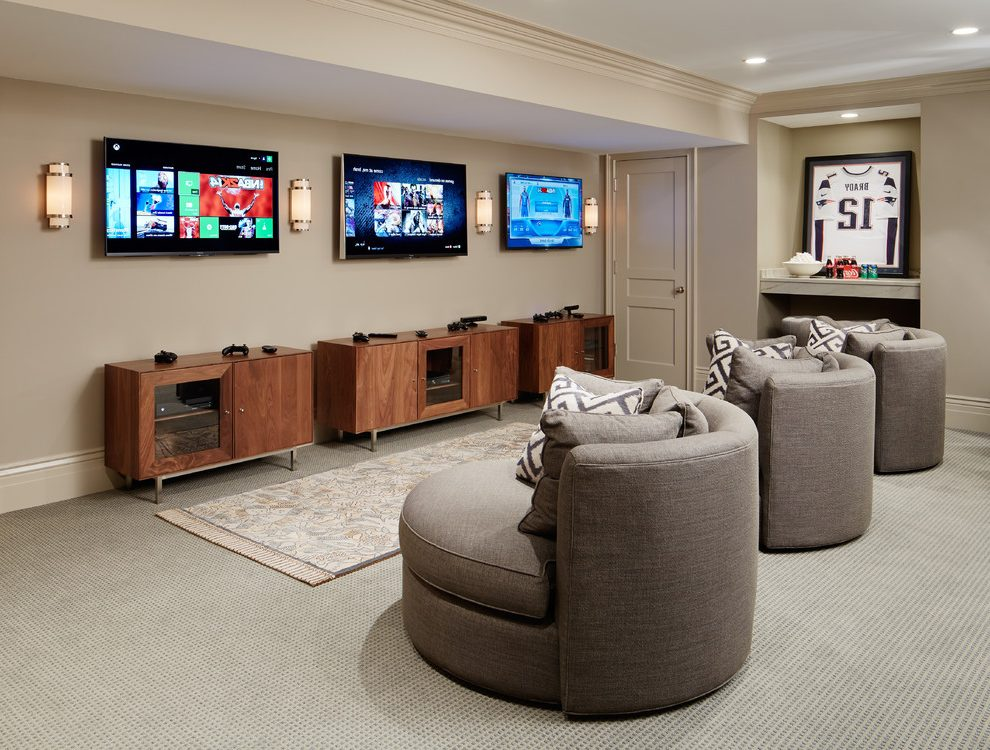 Smart home viewing party