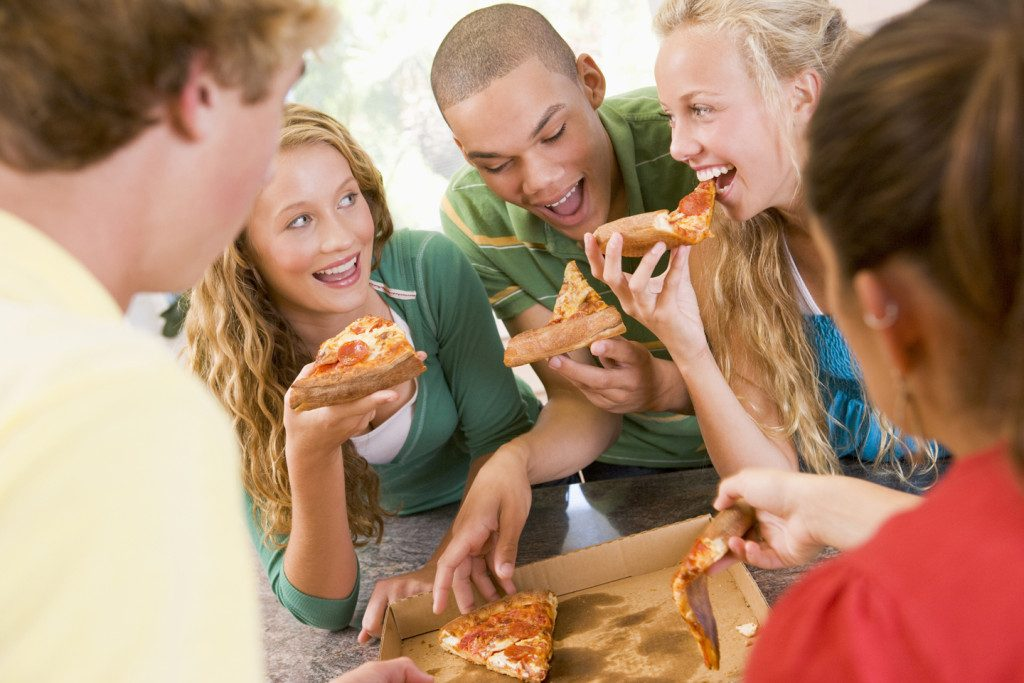 Oscar party pizza