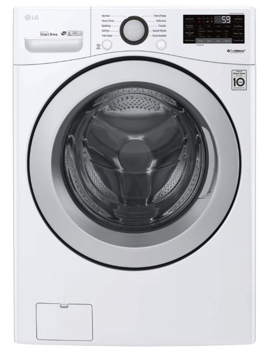 LG smart washing machine