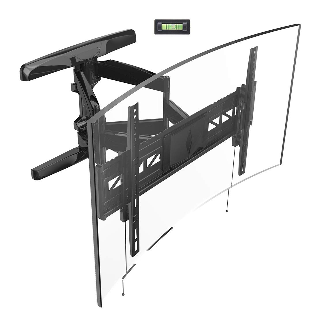 The best TV mounting bracket for curved TVs.