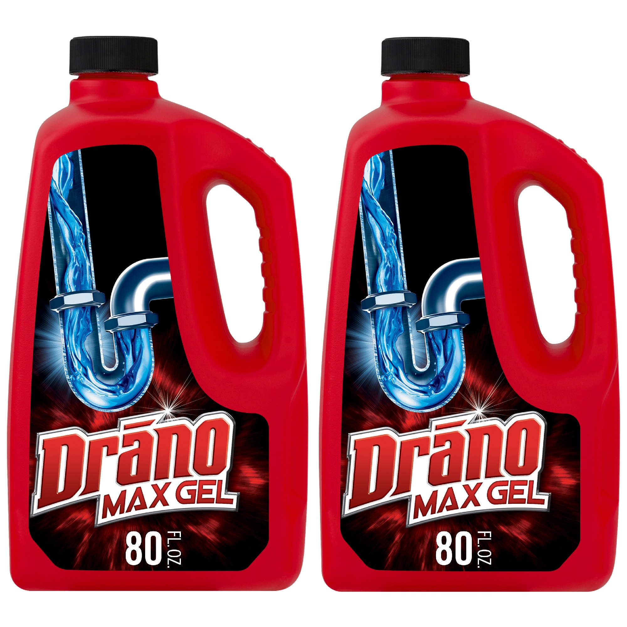 Drano max gel clog remover-1