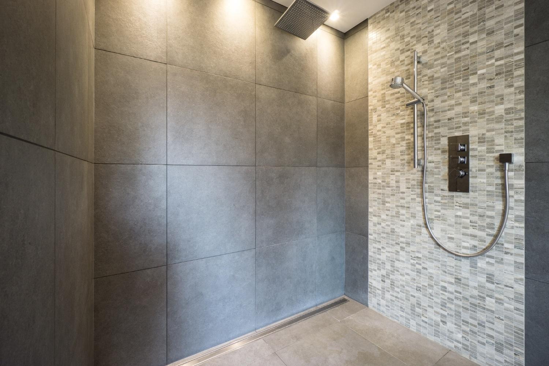 shower design for remodeling bathroom