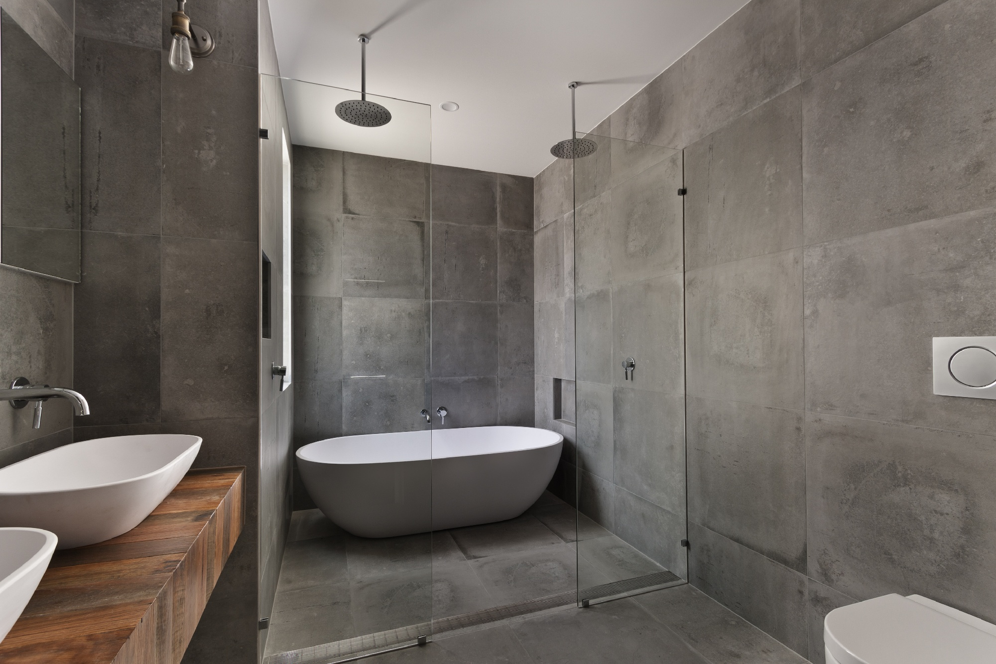 modern bathroom tile trend