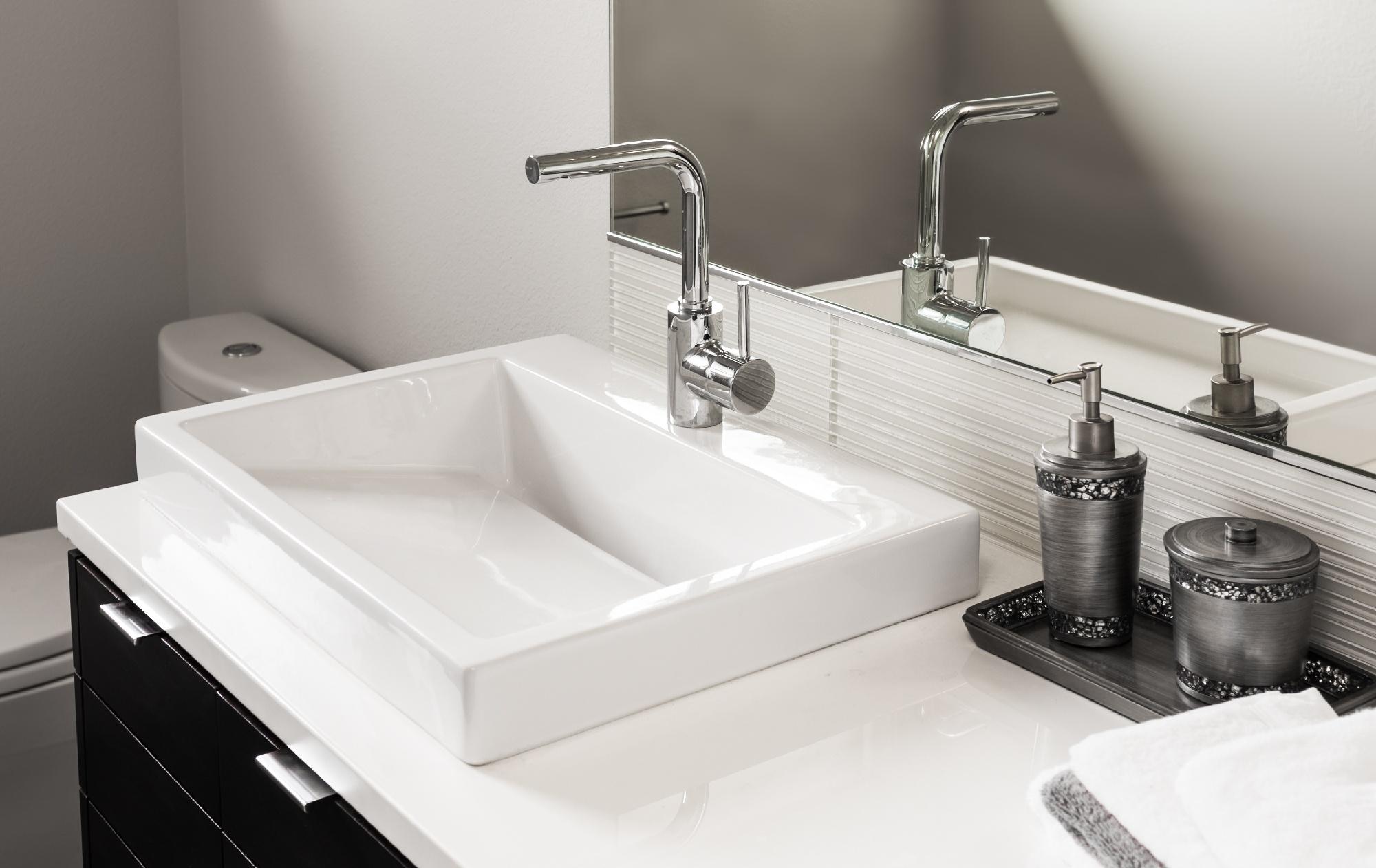 sink design for remodeling bathroom