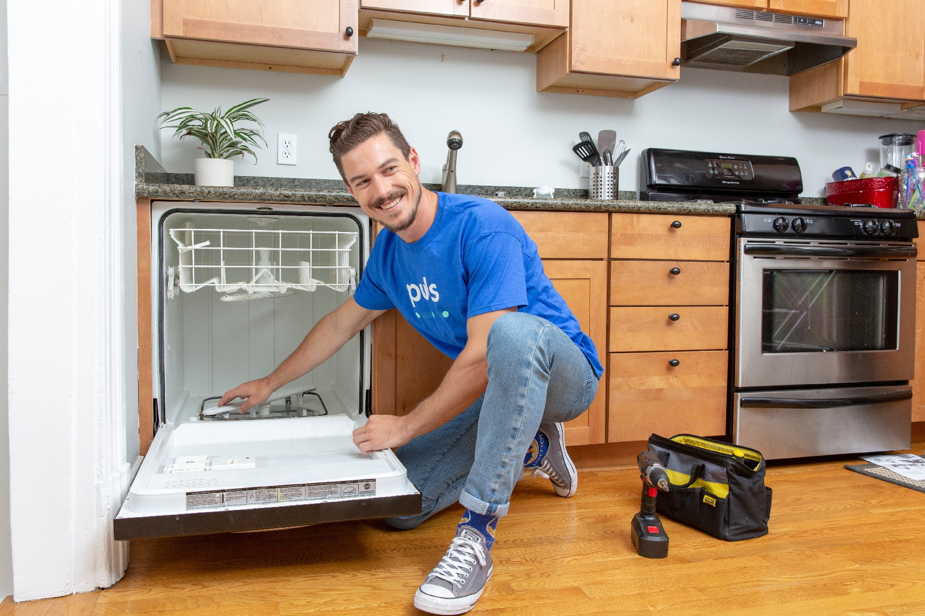 How to install a new dishwasher: make sure to prep your space properly.