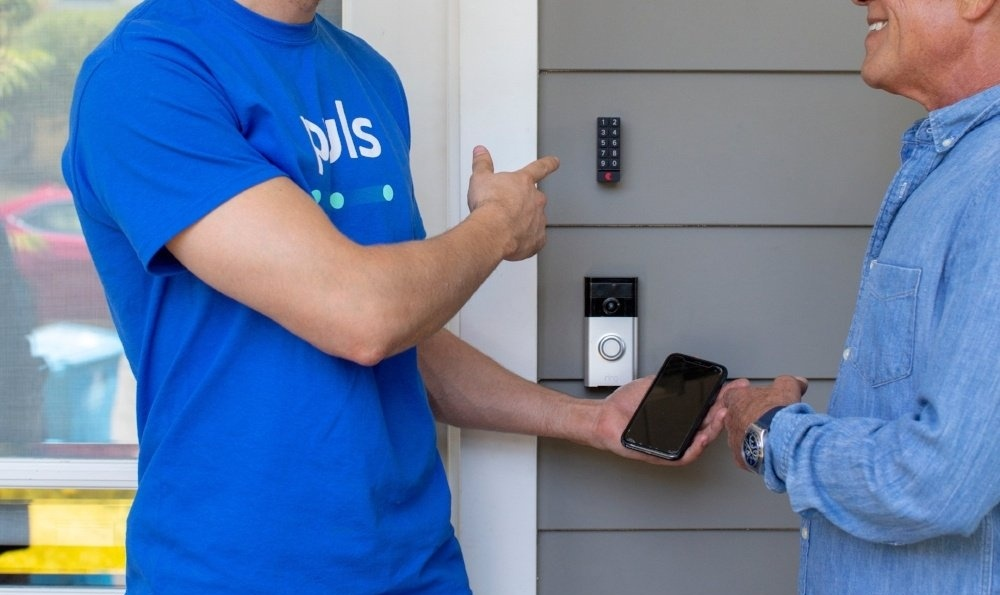 Puls smart doorbell install