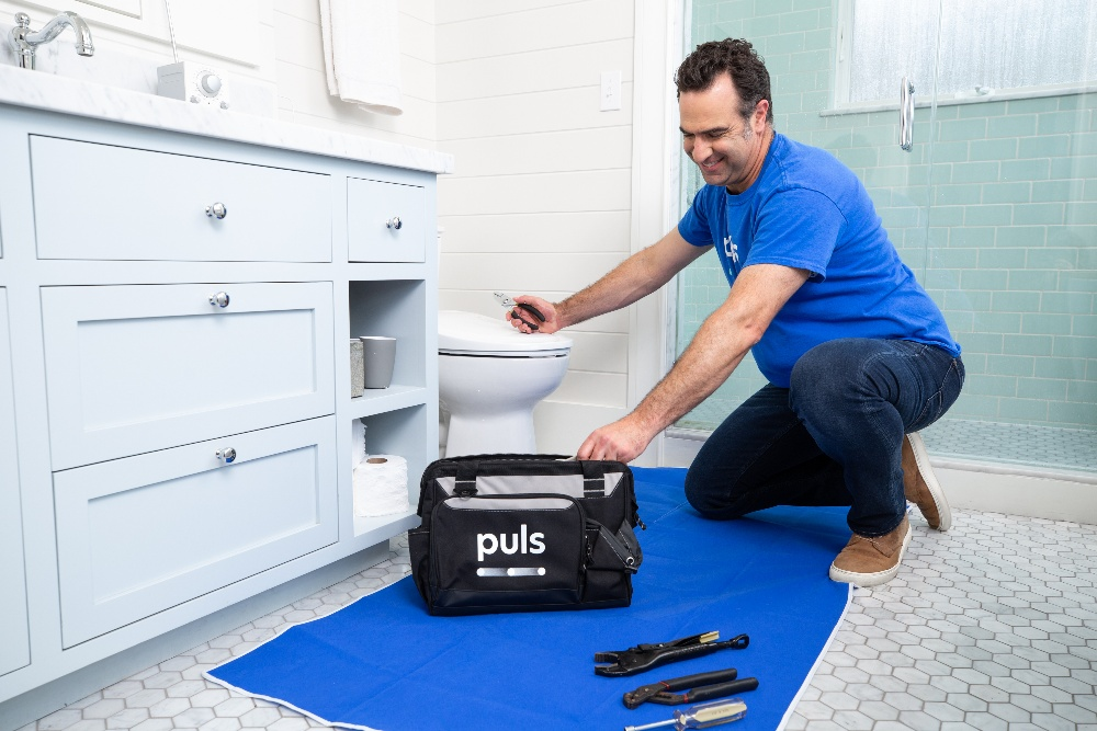 toilet repair with Puls