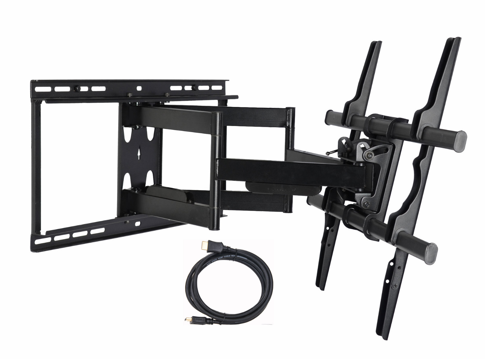 One of the best TV mounting brackets is the VideoSecu full motion TV mount.