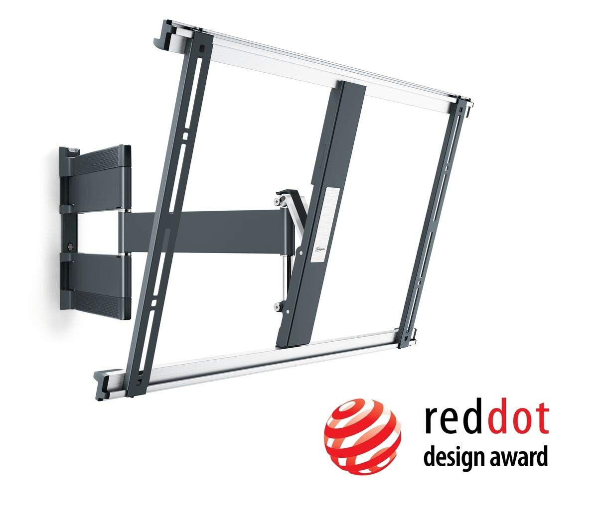 The best TV mounting bracket in terms of quality and design is the Vogel 180 Degree Swivel mount