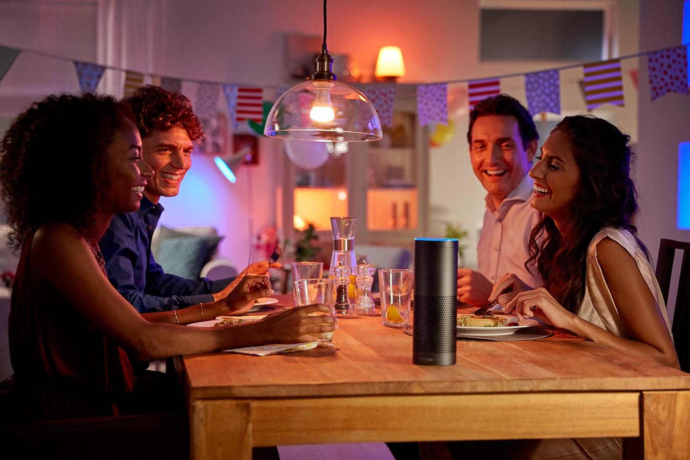 Amazon Alexa at party