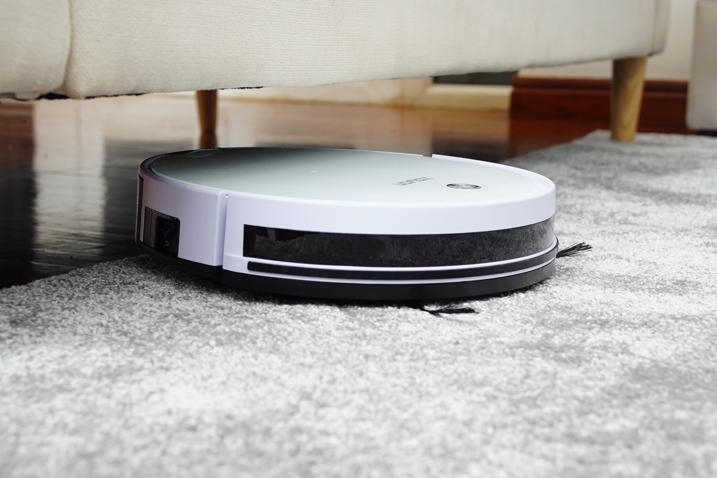 Another one of our carpet care tips is to vacuum often.