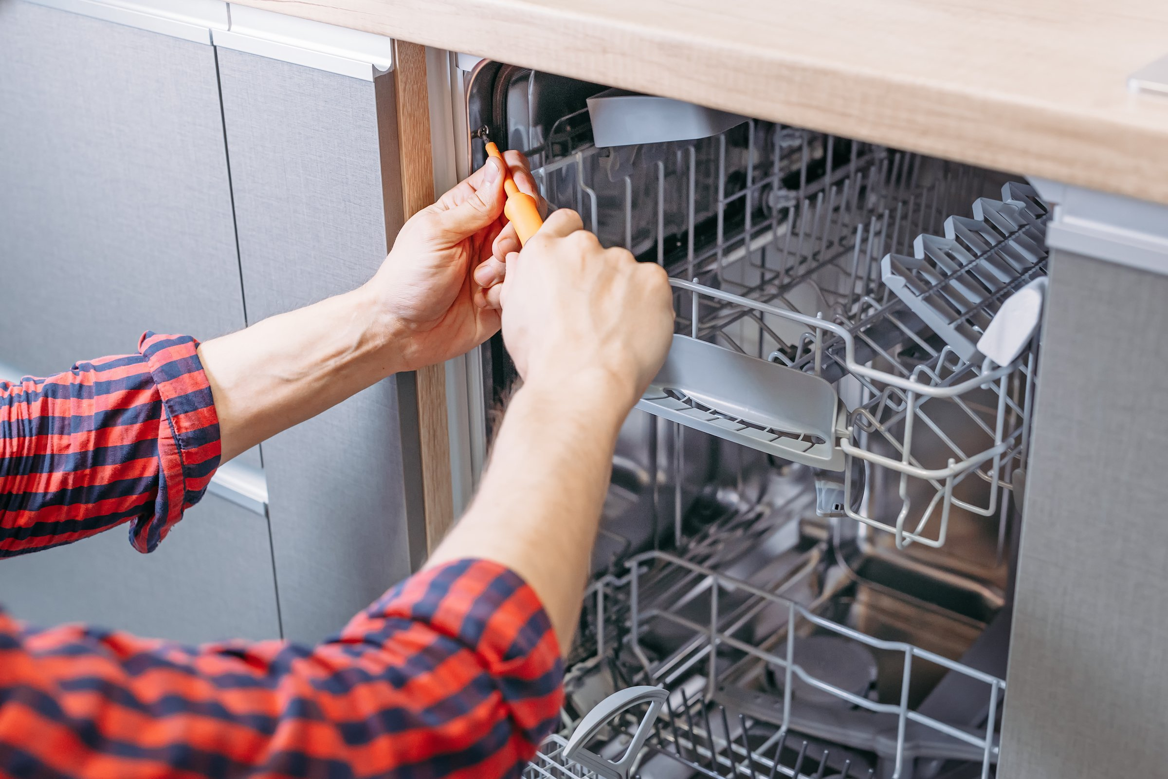 If your dishwasher won't stop running, it may be time to call in the professionals.