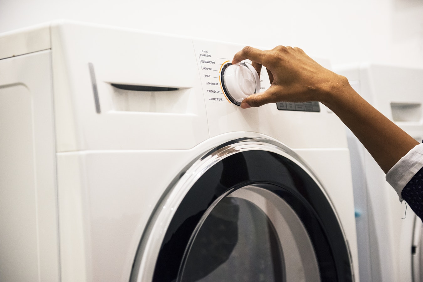 dryer start switch