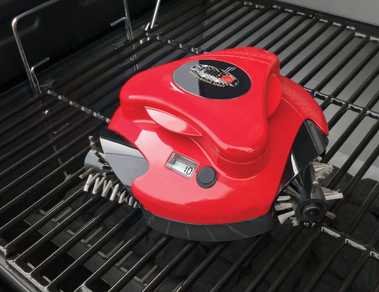Grillbot smart grill cleaner