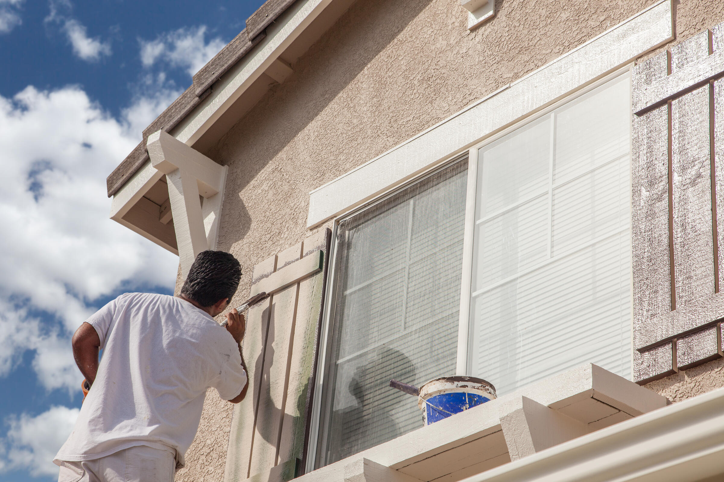 How much professional painting costs for your home's exterior
