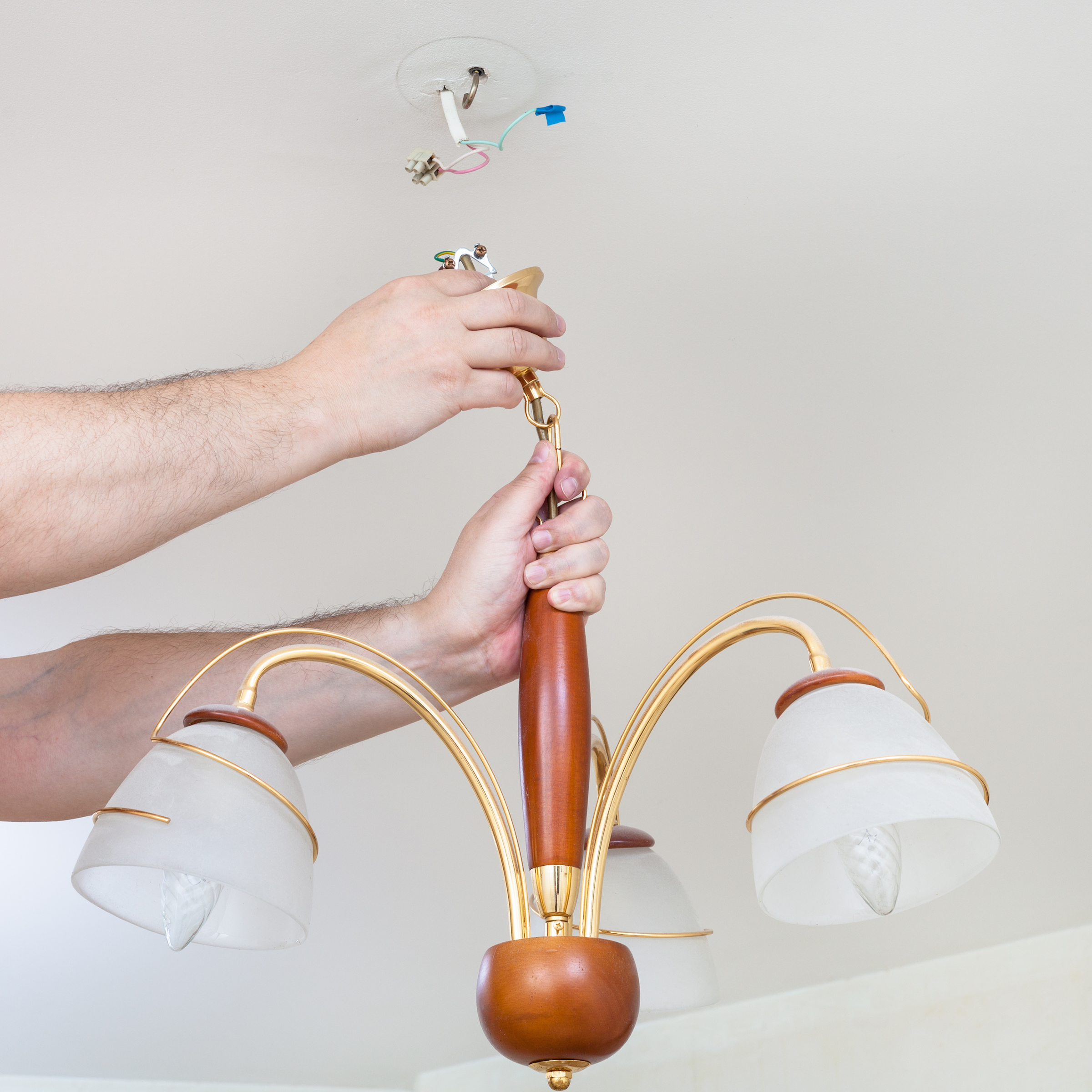 How to install a light fixture, step-by-step