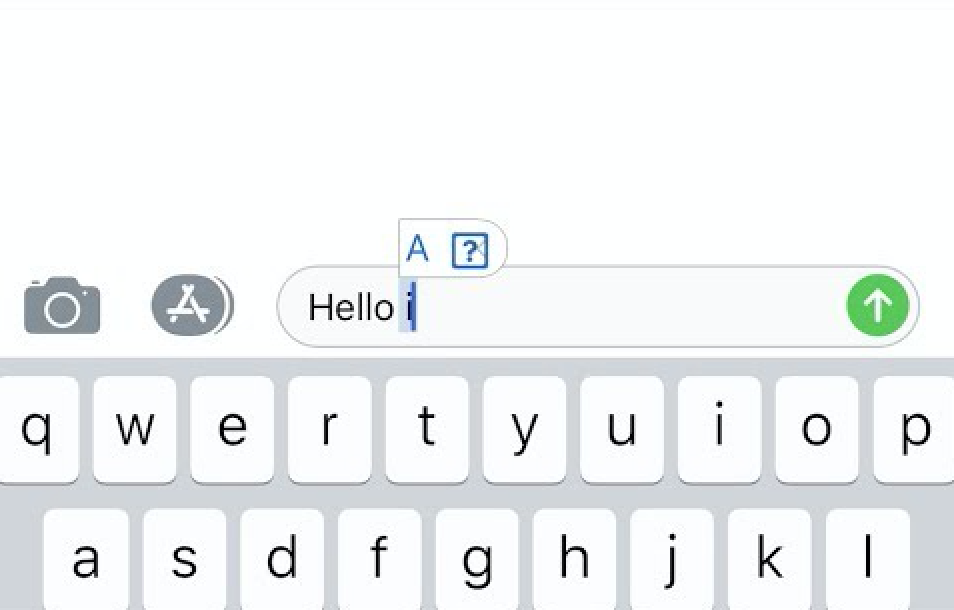 software update issue: autocorrect
