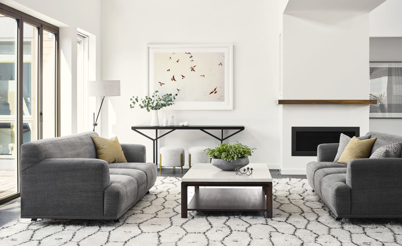 Get inspired by this beautiful living room from Niche Interiors