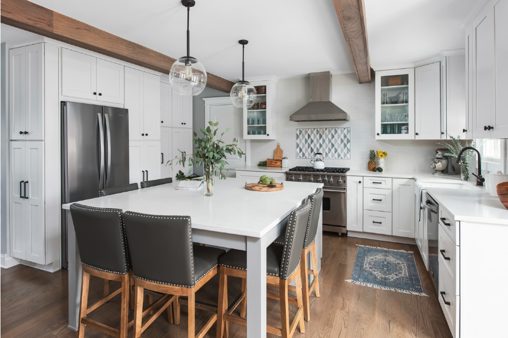 We love this beautiful kitchen by Chad Esslinger Design.