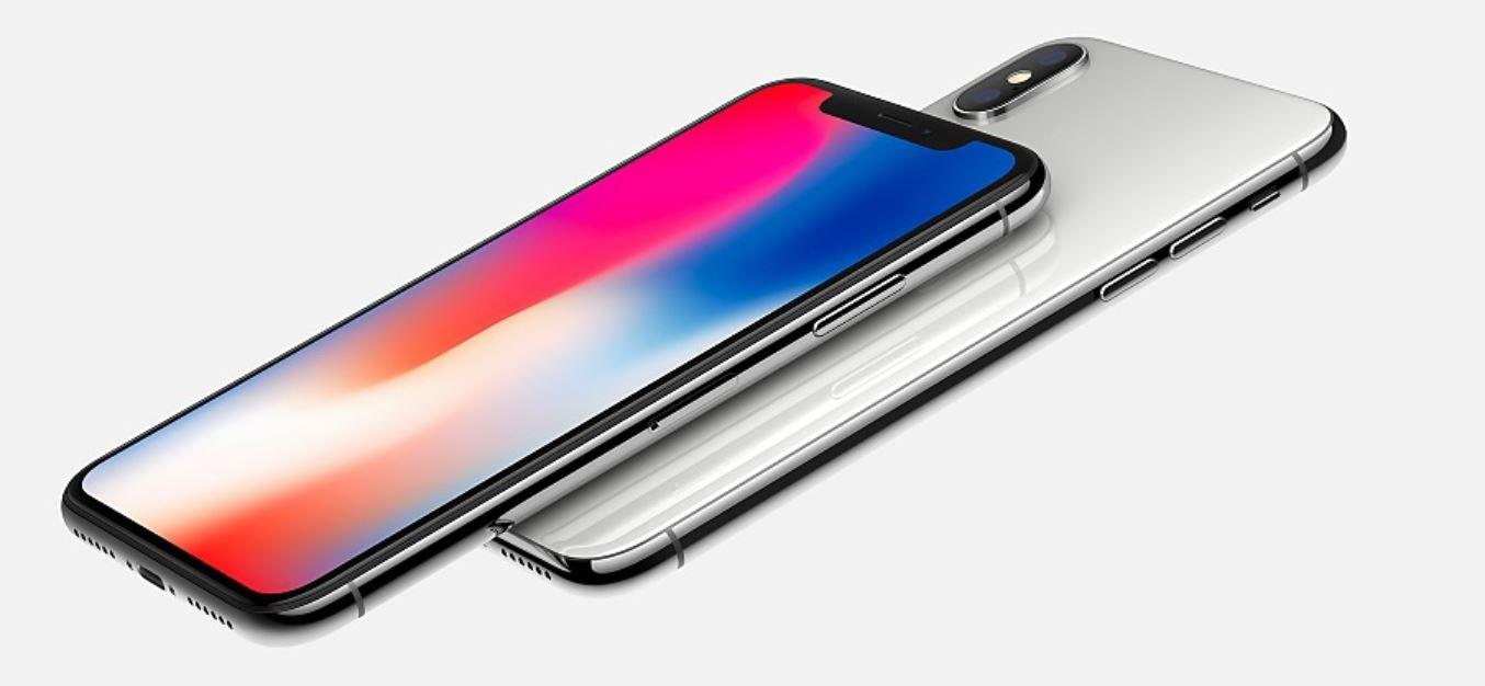 iPhone X all screen display