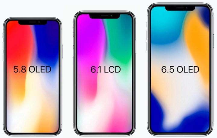 Leaked New iPhones 2018