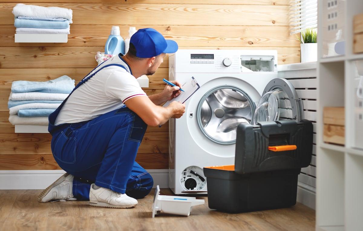 خرابی  برنامههای ماشین لباسشویی
