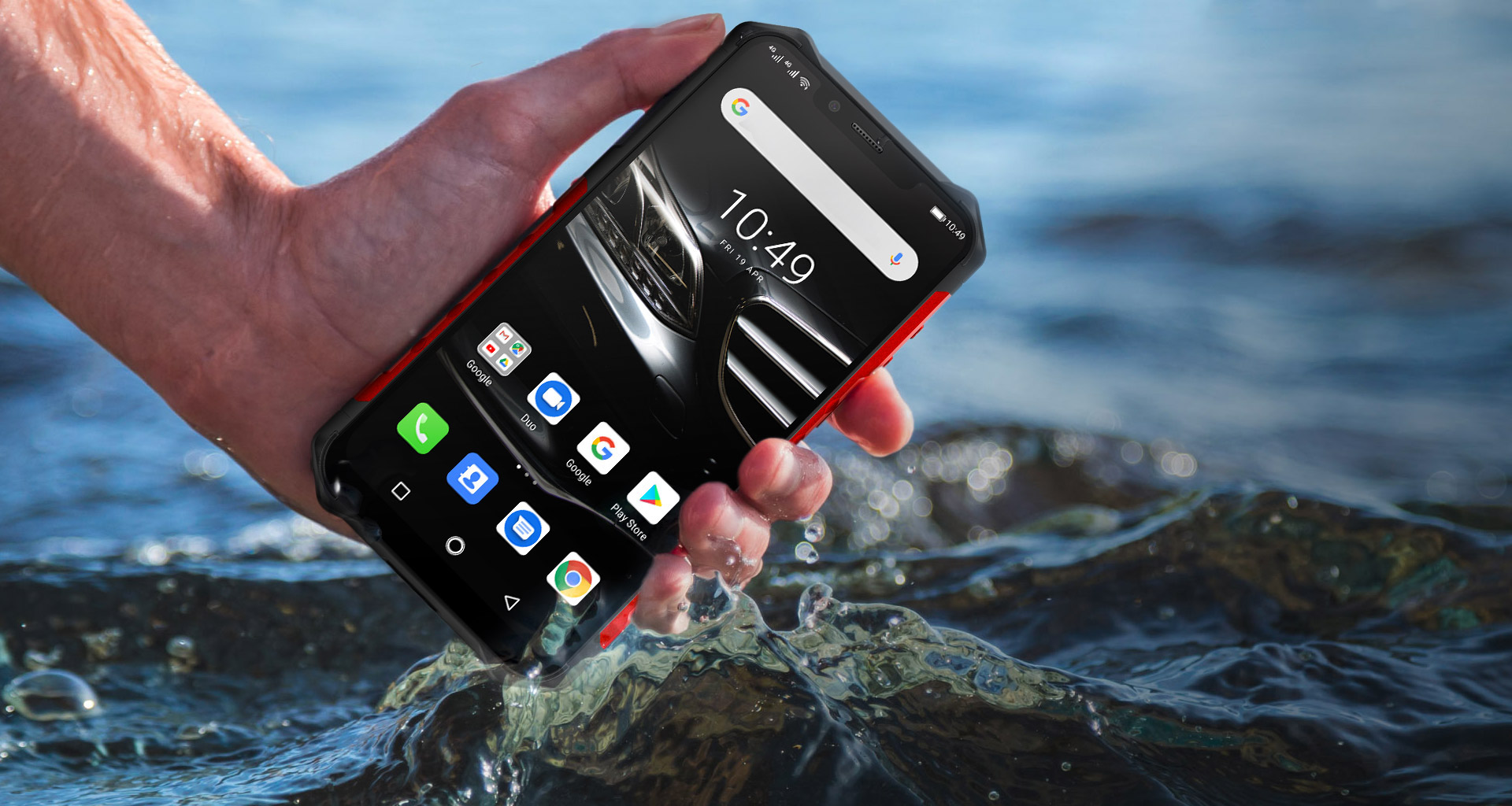 The Ulefone Armor 6E is one of the most durable phones with an underwater camera