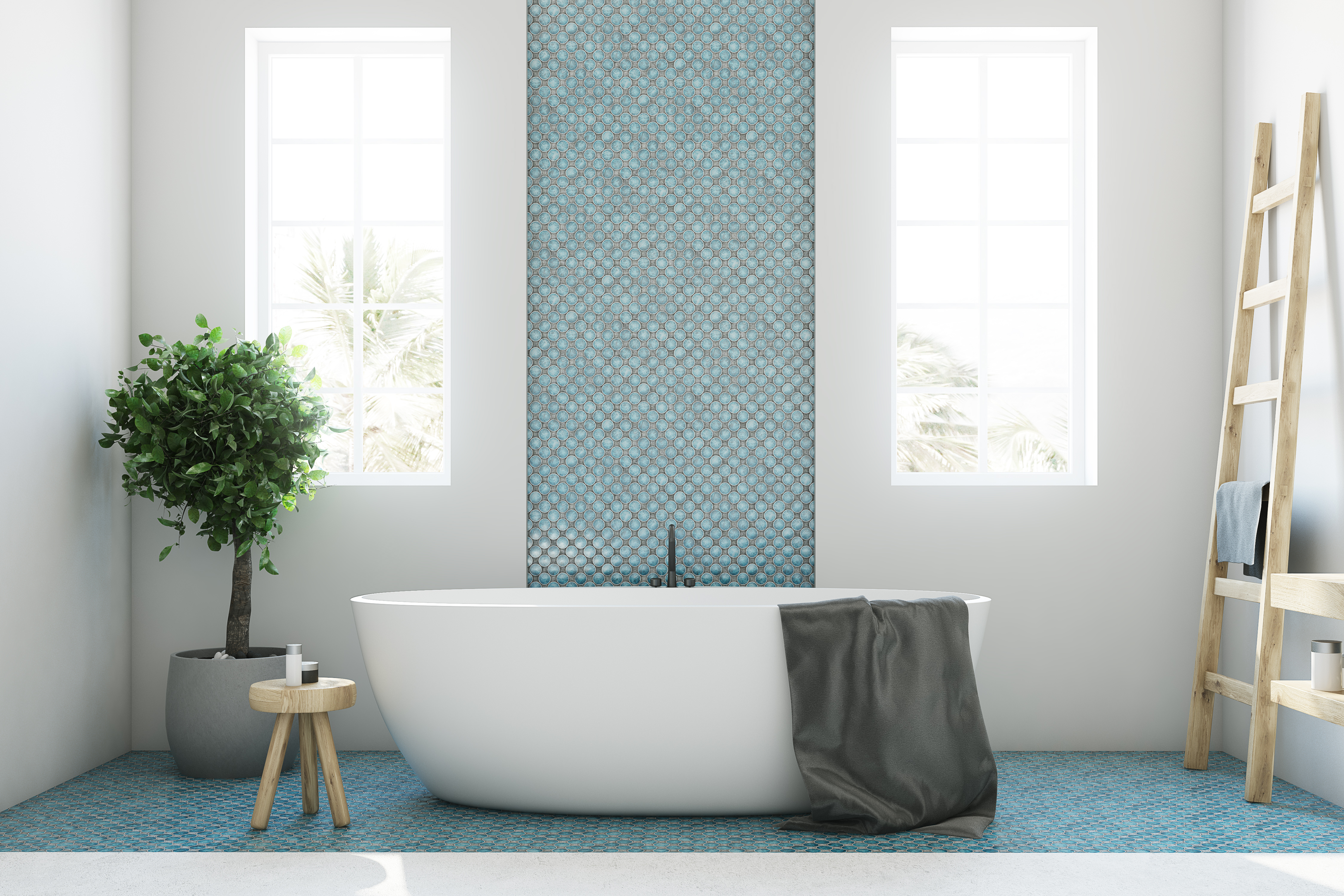 There are many types of bathroom tile stickers available.
