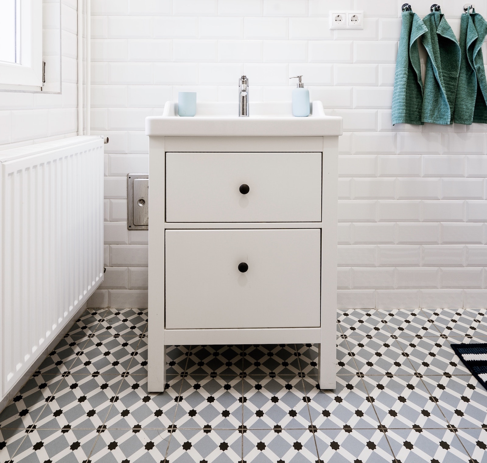 How much bathroom tile stickers cost
