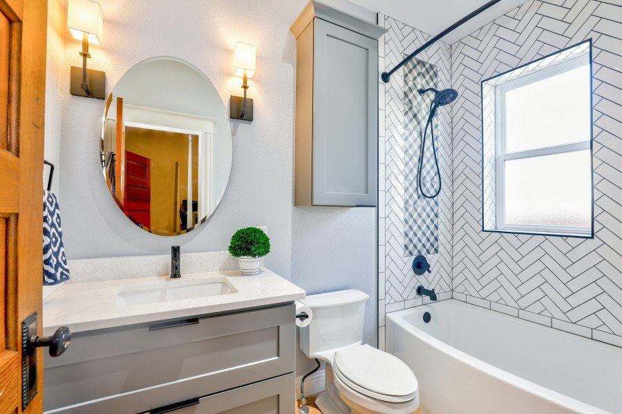 How to install bathroom tile stickers