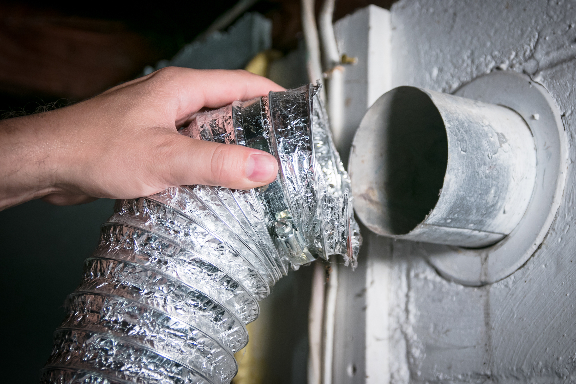 How to clean a clogged dryer vent step by step