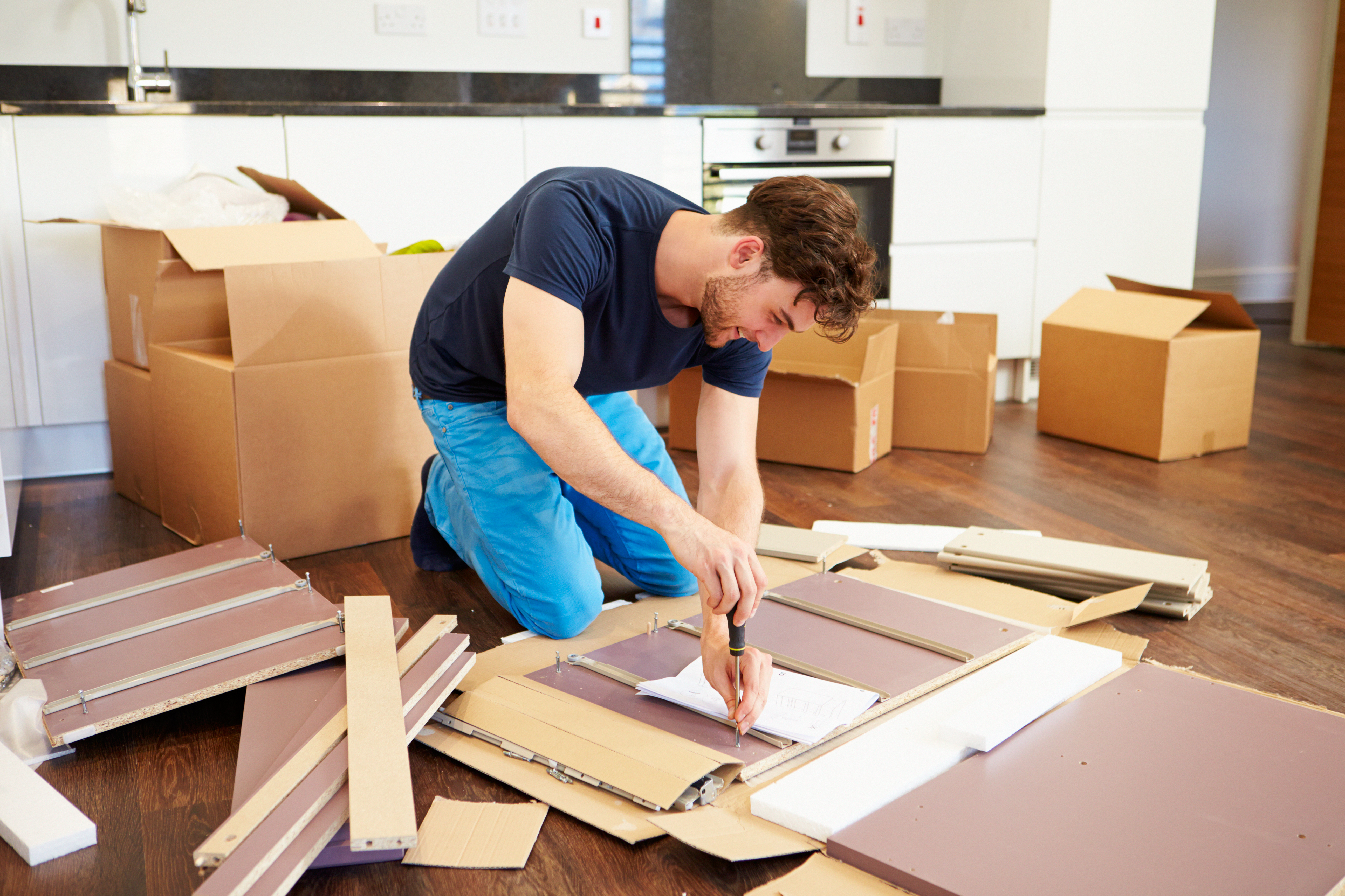 If you're wondering what a handyman can do, look no further! Handymen cover a slew of interior services, such as furniture assembly.