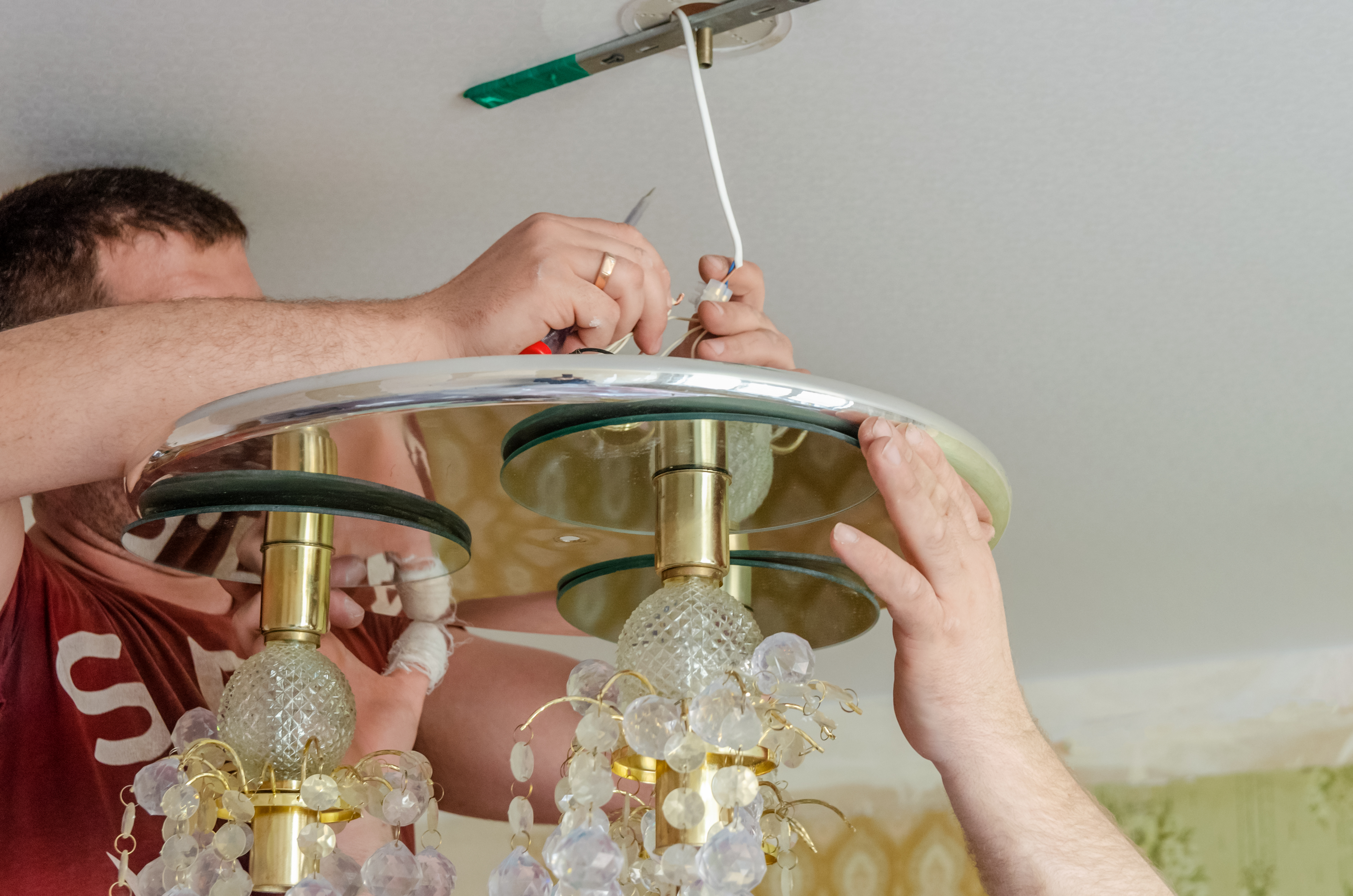 How To Install A Chandelier Brighten, How Much To Charge Install A Chandelier