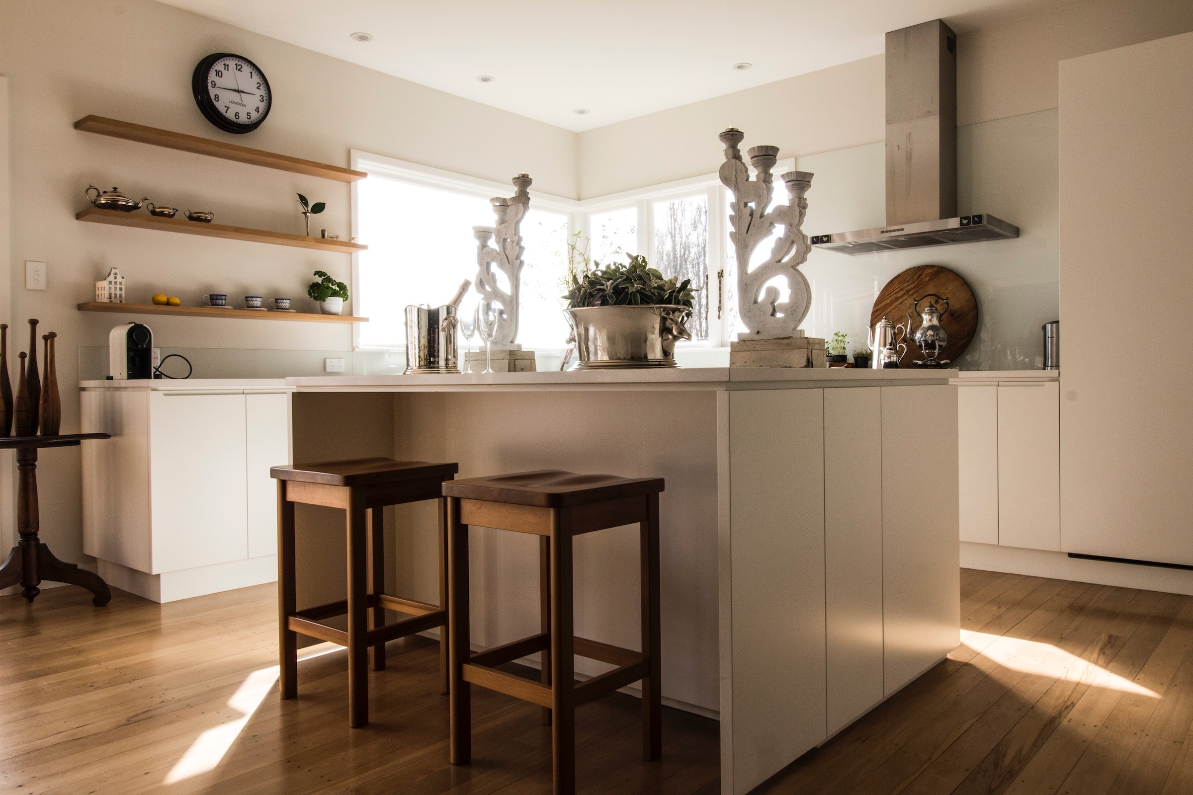 Open concept kitchens are trending right now