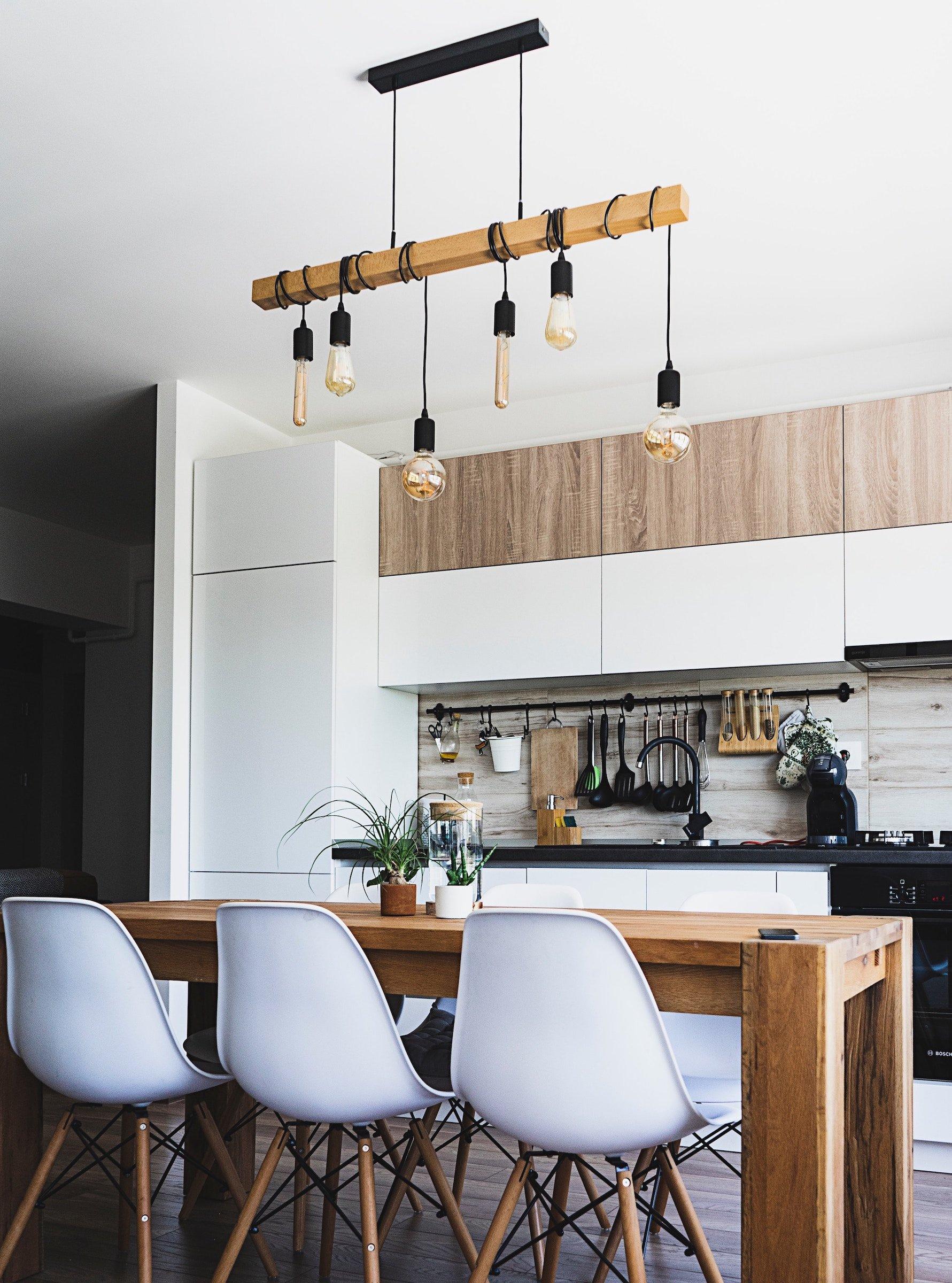 Another favorite kitchen design trend of 2019: pendant lighting