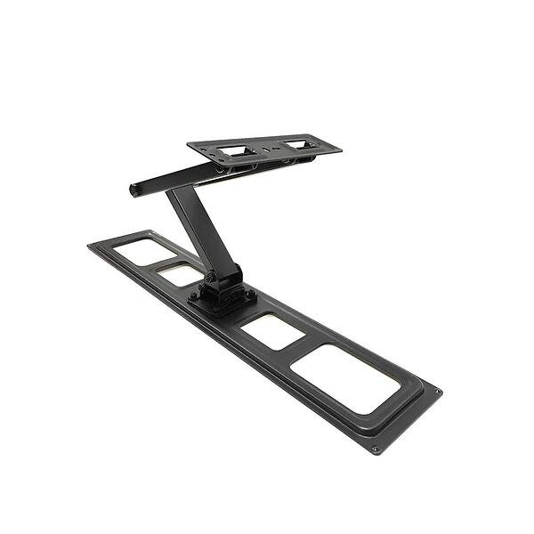 The Brateck full motion mount is another one of the best single stud TV mounts.