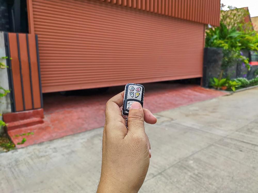 testing garage door opener