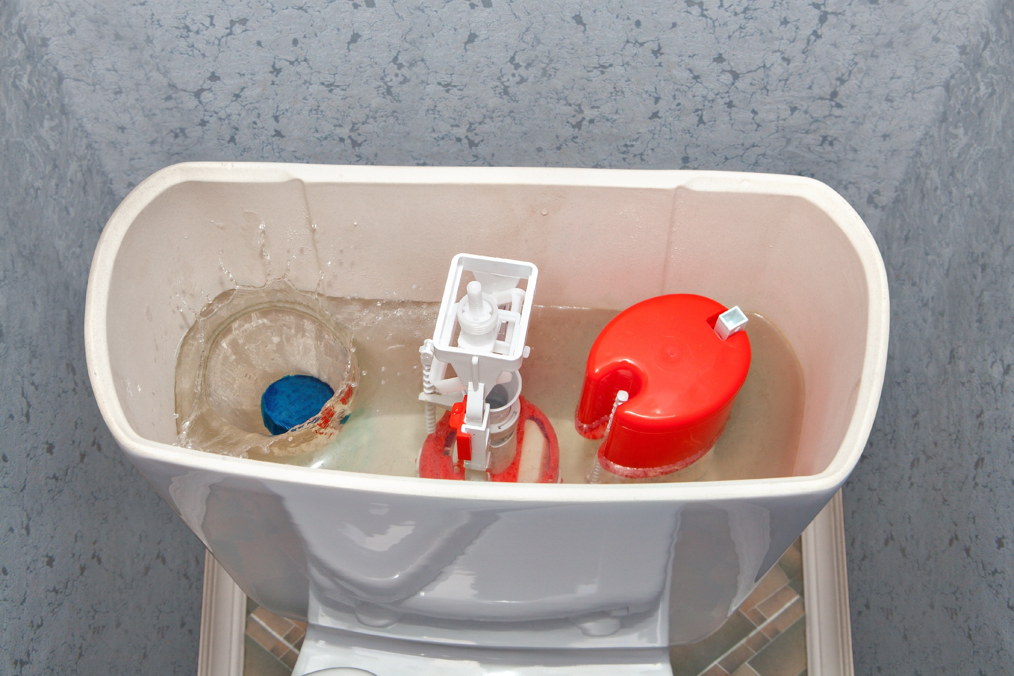 toilet constantly running