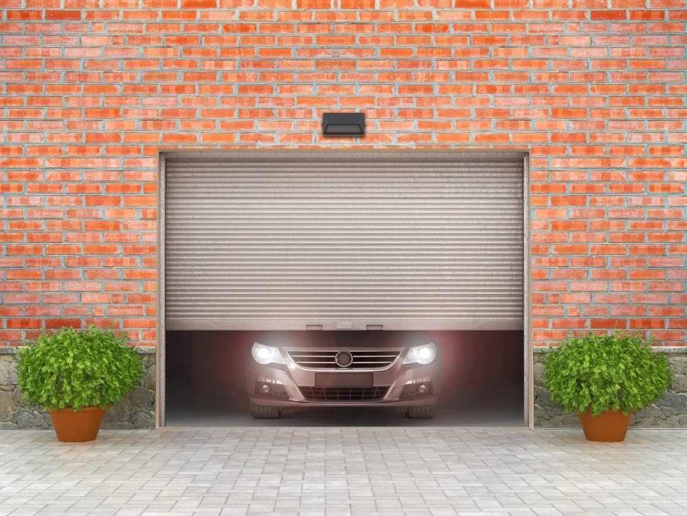 garage door entry