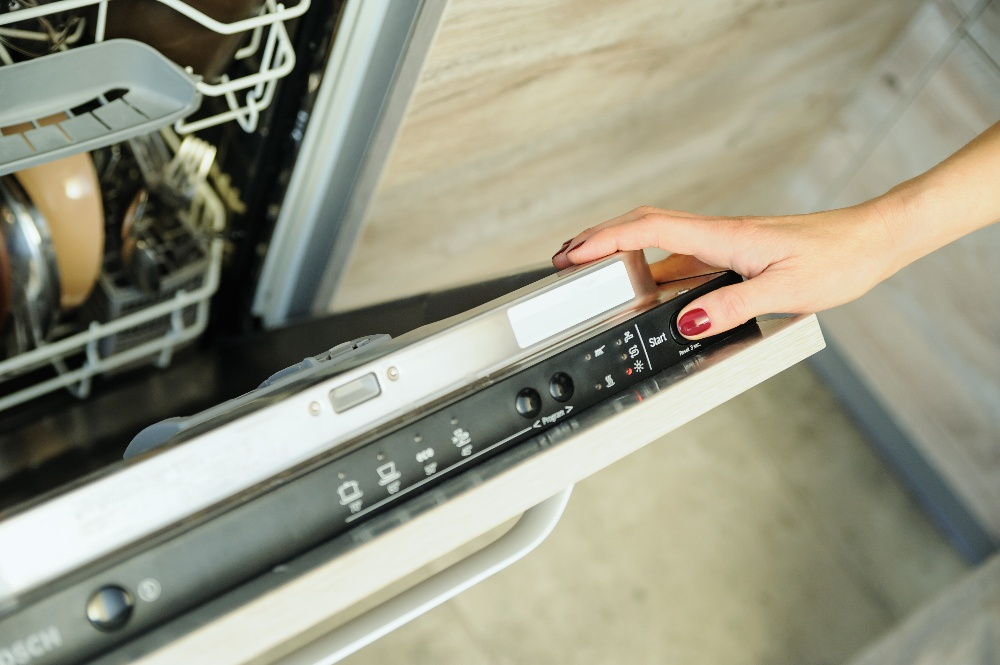 dishwasher reset function