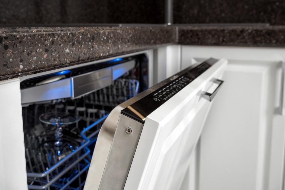 dishwasher door latch