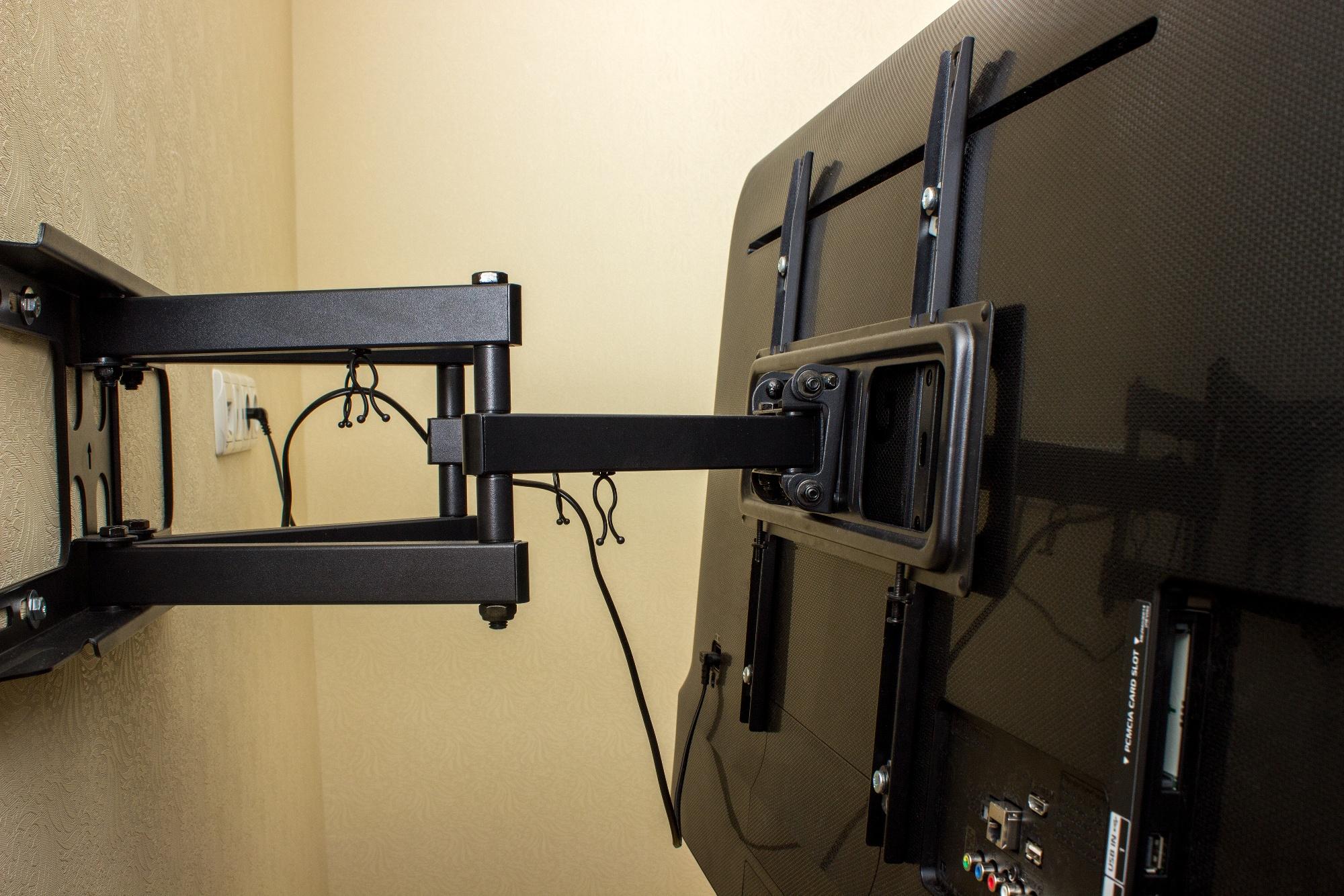 TV mount styles